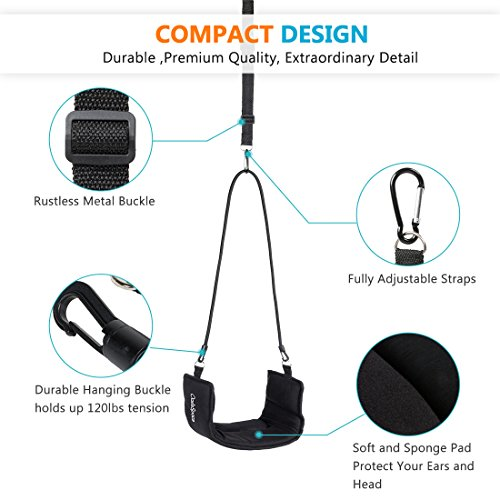 OasisSpace Adjustable Neck Massager, Medical Grade Cervical Traction Device Portable Door Handle Type for Neck Pain Relief by OasisSpace (Image #1)