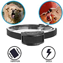 Humane No Bark Collar With 7 Adjustable Sensitivity Levels Anti-Bark Training Collar Electronic Collar Control Pet Safe Device for Small Large Medium Dog