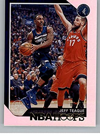 81ac793f795 2018-19 NBA Hoops Artist Proof  210 Jeff Teague SER 25 Minnesota  Timberwolves