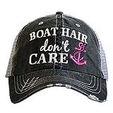 #8: Katydid Boat Hair Don't Care Women's Trucker Hat