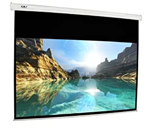FAVI HD-120 inch 16:9 Electric Motorized Projector Projection Screen with IR, RF Remote Controls