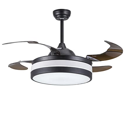 Lighting groups modern black folding ceiling fans with lights remote lighting groups modern black folding ceiling fans with lights remote control 42 inch retractable ceiling light aloadofball Image collections