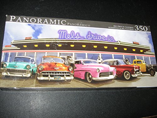 Panoramic Mel's Drive-in Puzzle, 350 (California Panoramic Puzzle)