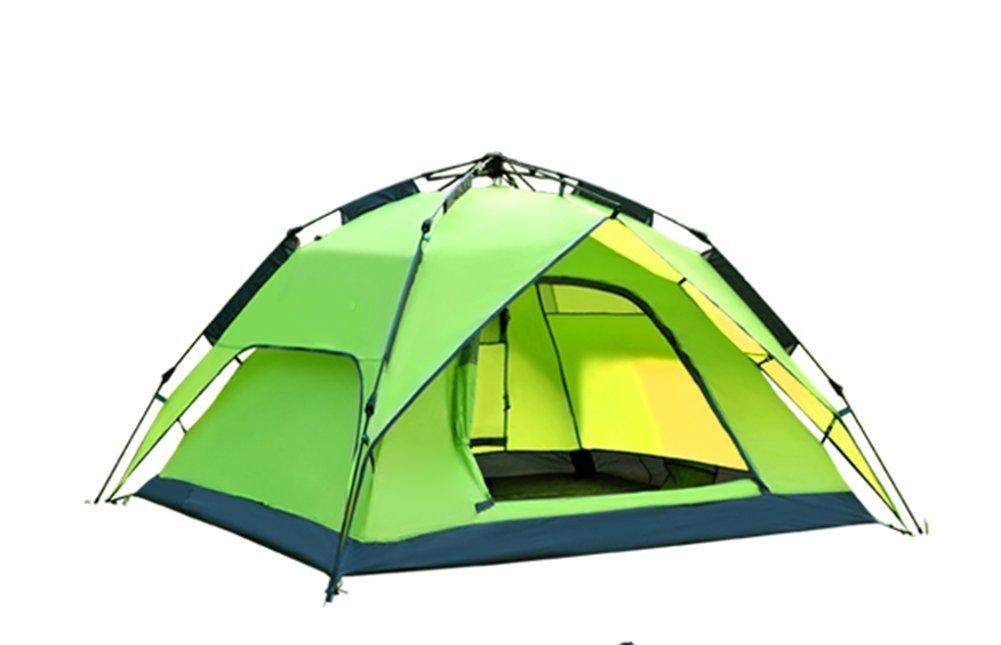 Fptcustom Outdoor-Camping Zelt, Automatische Geschwindigkeit Zelt öffnen Wasserdicht Uv Strandzelt Für 3-4 Personen