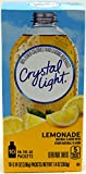 Crystal Light On The Go Natural Lemonade Drink Mix, 10-Packet Box (Pack of 5)