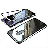 Samsung Galaxy S9 Plus Case,RedHoney Upgrade Magnetic Cell Phone Case, Color Collision Case,Ultra-Thin Magnetic Adsorption, Back Tempered Glass Samsung Galaxy S9 Plus