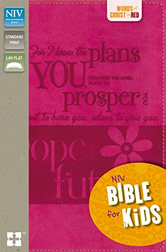 NIV, Bible for Kids, Imitation Leather, Pink, Full Color