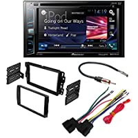 PIONEER AVH-280BT AFTERMARKET CAR STEREO DASH INSTALLATION KIT W/ WIRING HARNESS ANTENNA SELECT BUICK CHEVROLET GMC HUMMER PONTIAC SATURN SUZUKI