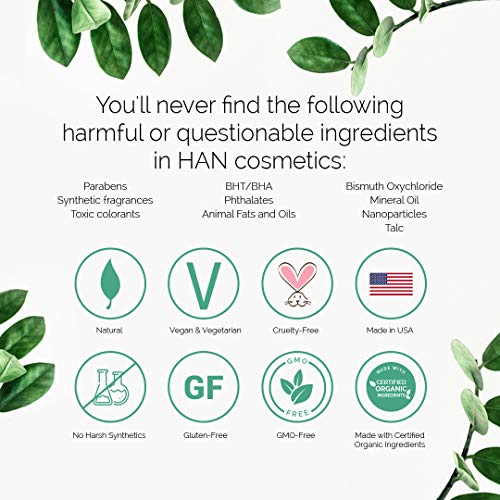 HAN Skincare Cosmetics All Natural Concealer, Fair Light