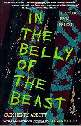 In The Belly Of The Beast Letters From Prison Amazon De Abbott Jack Henry Fremdsprachige Bucher