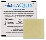 Inspiration Medical Technology, Inc. AllaQuix Stop Bleeding Pad (LARGE 2-inch square) Professional-Grade First-Aid Hemostatic Gauze (Blood Clotting Bandage)