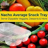 Anti-Spill Plastic Nacho Trays. Disposable 2