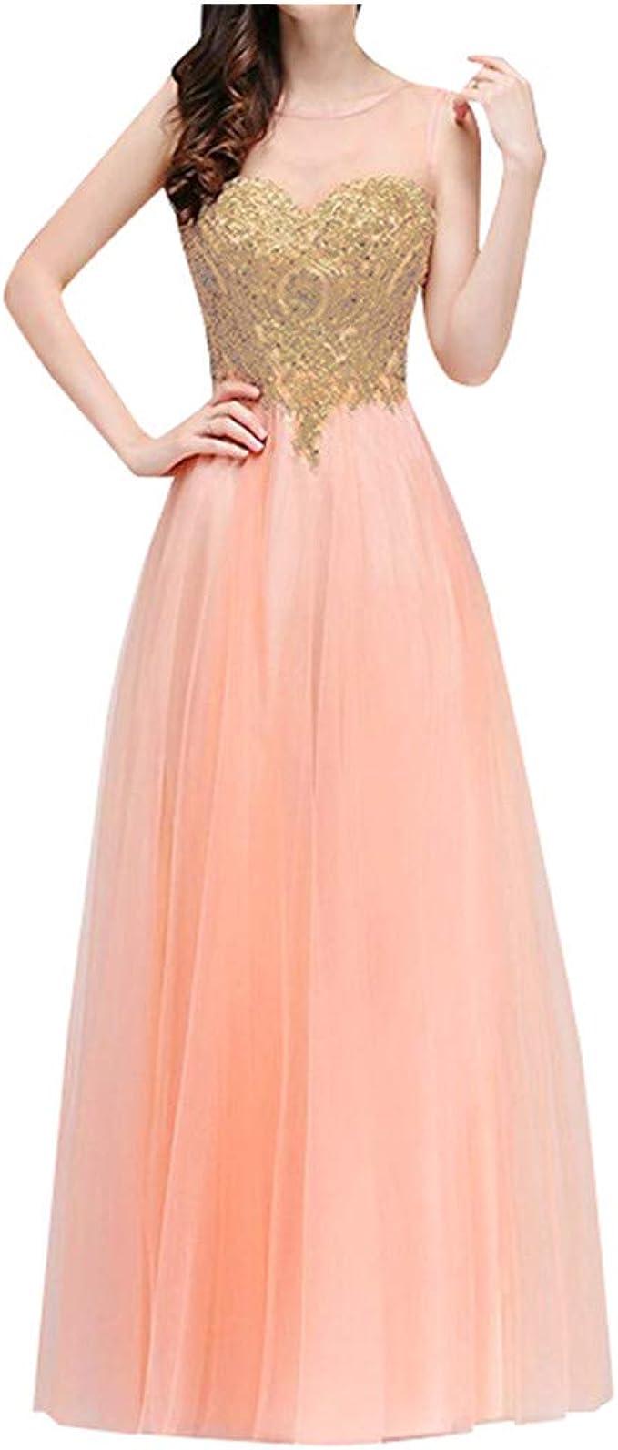 Lenfesh Elegante Kleider Damen Kleid Festliche Kleider