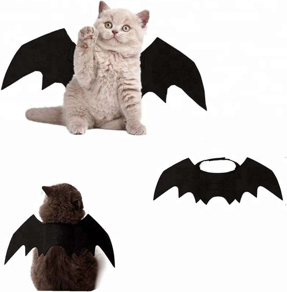 atimier Halloween Pet Bat Wings Cat Dog Bat Costume Pet Dog Bat Wings