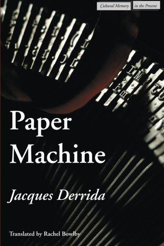 Paper Machine (Cultural Memory in the Present)