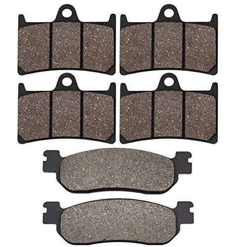 Yzf600 Rear Brake (Cyleto Front and Rear Brake Pads for YAMAHA YZF600 YZF 600 R6 1999 2000 2001 2002 / YZF1000 R1 2002 2003)