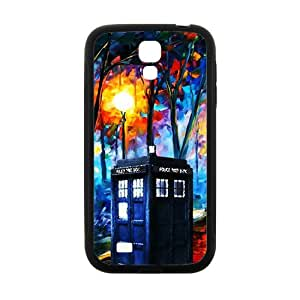 Abstract Tree Telephone Booth Black Samsung Galaxy S4 case