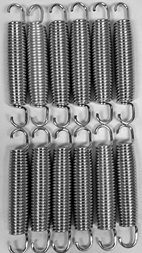 BouncePro 5.5'' Replacement Springs, Silver 12 (Count) by Bounce Pro