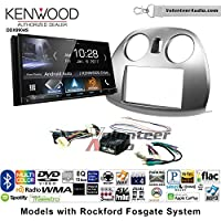 Volunteer Audio Kenwood DDX9904S Double Din Radio Install Kit with Apple CarPlay Android Auto Bluetooth Fits 2006-2012 Mitsubishi Eclipse With Rockford Fosgate Systems