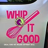 Best Good Cook Vegetable Knives - WHIP IT GOOD WHISK BAKER Vinyl Decal Sticker Review