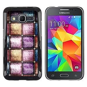 TopCaseStore / la caja del caucho duro de la cubierta de protección de la piel - Watercolors Pastel Tones - Samsung Galaxy Core Prime SM-G360