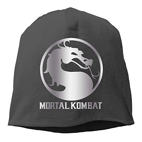 Mortal Kombat Platinum Style Beanies Cap Black