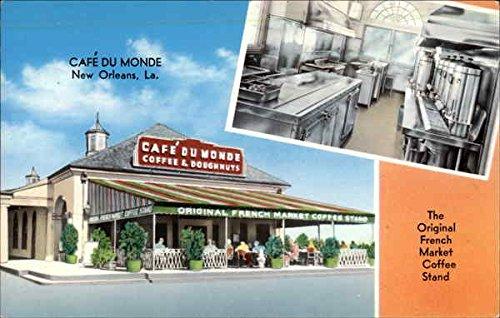 iginal French Market Coffee Stand New Orleans, Louisiana Original Vintage Postcard ()