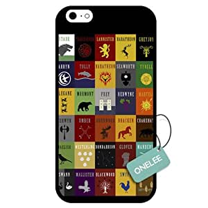 Onelee - Customized Game of Thrones TPU Case Cover for Apple iPhone 6 - Black 06
