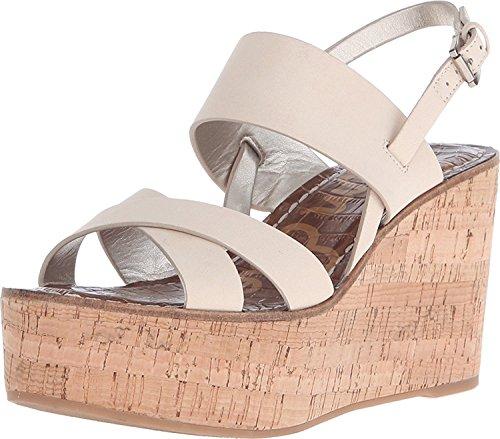 Sam Edelman Womens Destiny Platform Sandal Summer Sand Wayne Nubuck Leather