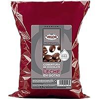 Cobertura de Chocolate con Leche en Gotas - Valor. Pack 2,5 Kg