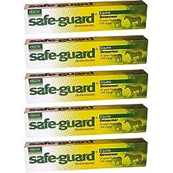 Merck Intervet Safeguard Dewormer Paste for Horses, 25gm (5-Pack)