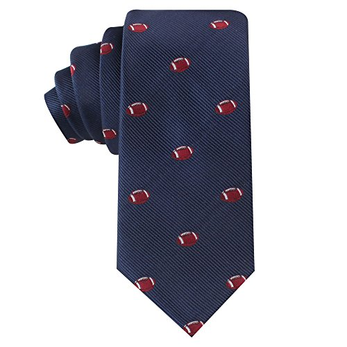 Football Mens Tie - American Gridiron Football NFL Fan Ties   Christmas Gift for Men   Work Ties for Him   Birthday Gift for Guys (American Gridiron)