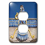 3dRose Danita Delimont - Artwork - Central Iran, Yazd, Ateshkadeh, Zoroastrian Fire Temple, Exterior - Light Switch Covers - 2 plug outlet cover (lsp_276824_6)