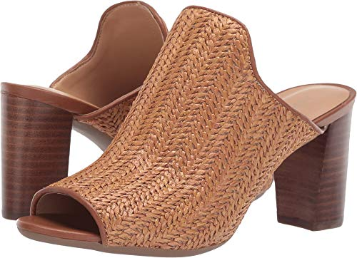 Aerosoles Women's BIRDWATCHER Mule, Dark Tan Combo, 8.5 M US