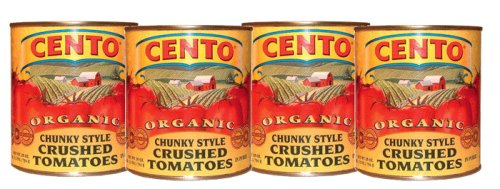 Style Crushed Tomatoes, set of 4 cans ()