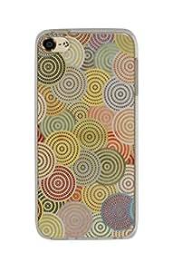 iPod Touch 6 Elegante funda - gel de silicona irrompible sólido y resistente -NOVAGO (Redonda de color)