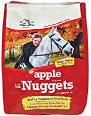 Manna Pro Apple Flavored Bite-Sized Nuggets Horse Treats