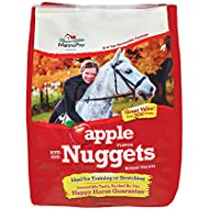 Manna Pro Apple Flavored Bite-Sized Nuggets Horse Treats 4 lb