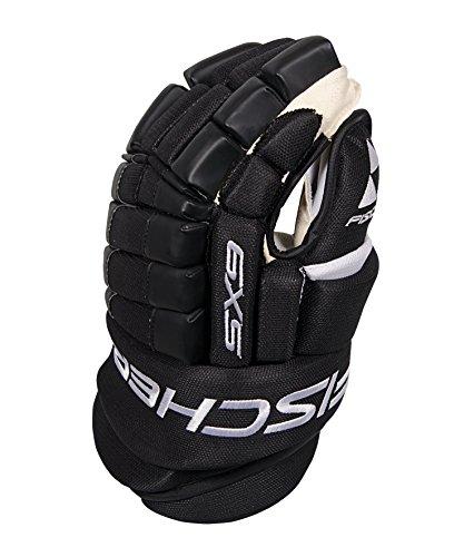 Fischer Hockey SX9 Pro Gloves, Black, 15-Inch - Pro Hockey Gloves