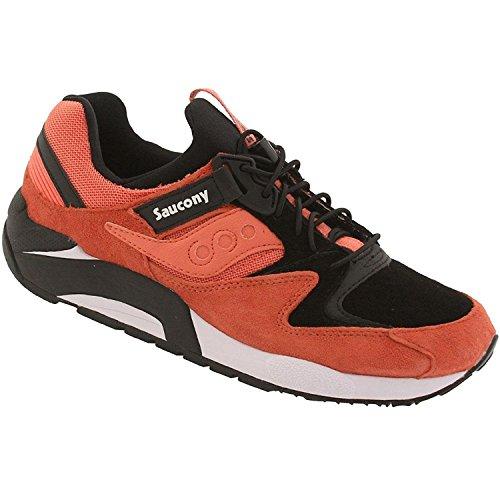 Saucony Grid 9000 Mens Running Shoes, Anaranjado, 48 D(M) EU/12 D(M) UK