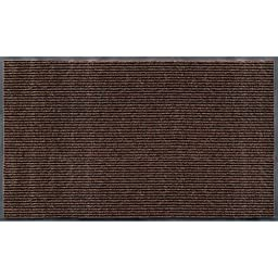 Rib Commercial Carpeted Indoor and Outdoor Floor Mat, Cocoa Brown, 3-feet by 5-Feet