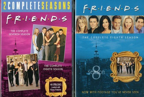 Friends Complete Set - Friends: The Complete Seventh and Eighth Seasons
