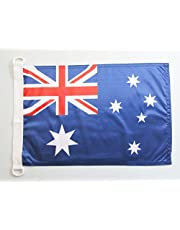 AZ FLAG Australia Nautical Flag 18'' x 12'' - Australian Flags 30 x 45 cm - Banner 12x18 in for Boat