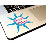 "Good Vibes Sun Nature 4"" Decal _ Vinyl STICKER for laptop journal,wall or car"
