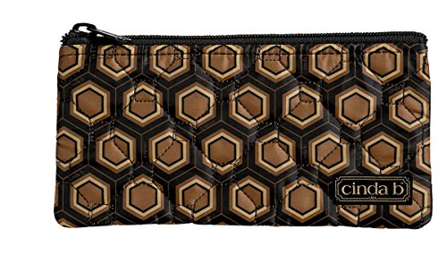cinda b Happy Zip Pouch, Mod Tortoise, One - Anchorage In Boutiques