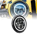 "OLS Universal 7"" Round H4 45W LED Headlight Sealed Beam A..."