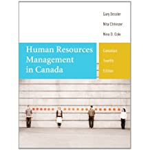Human Resources Management in Canada, Twelfth Canadian Edition Plus MyManagementLab with Pearson eText -- Access Card Package (12th Edition)