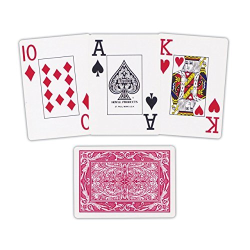 Oversize Playing Cards - Maverick Jumbo Face Playing Cards for Low Vision