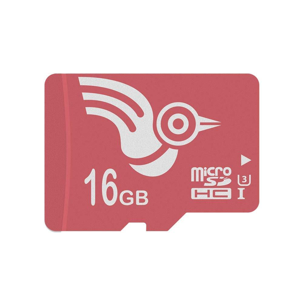 ADROITLARK Tarjetas MicroSD 16 GB Tarjeta de Memoria microSD para teléfono/Dashcam/Smart Watch/Cámara (U3 16GB)