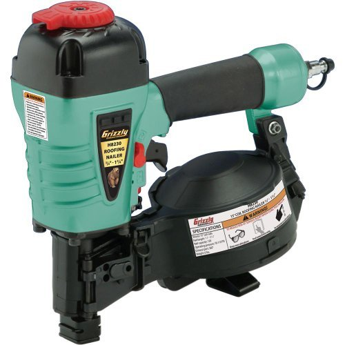 Grizzly H8230 3/4-Inch-1-3/4-Inch Coi Length Roofing Nailer